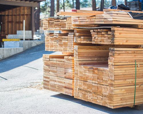 Services d'achat du bois